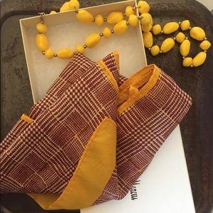 Vintage Scarf & Necklace